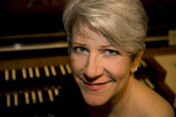 julie vidrick evans organist evensong concert