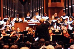 Washington Adventist University Choir Orchestra Evensong Concert