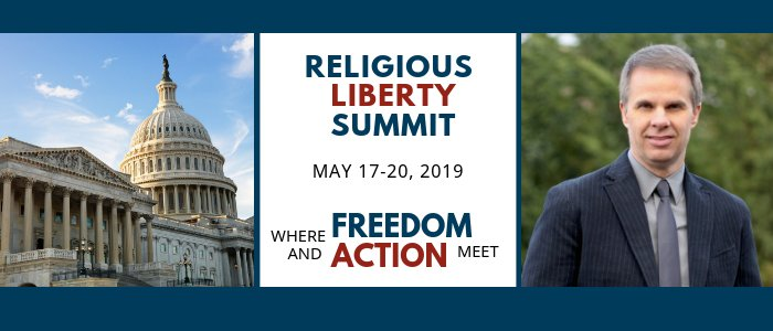 North American Division Religious Liberty Summit 2019 featuring speaker, Ty Gibson