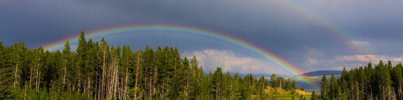 the miracle of a rainbow promise of God