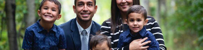 Matthew and Amy Piersanti and family